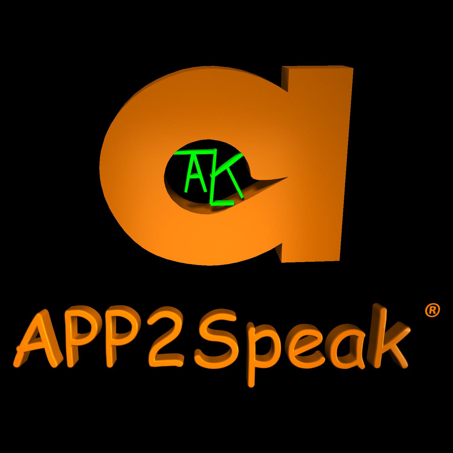 Logo for APP2Speak®