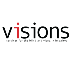 Logo for VISIONS/Services for the Blind and Visually Impaired