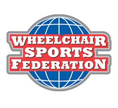 Logo for Wheelchair Sports Federation