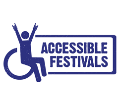 Logo for Accessible Festivals